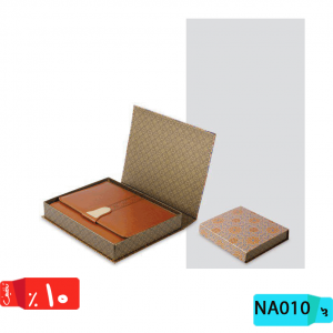 فروش جعبه سررسید ارگانایزر,طرح نگین ,جعبه دار ,زبانه دار,NA010