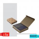 سررسید یکروزه ارگانایزر,طرح مشبک ,جعبه دار مشبک,NA009