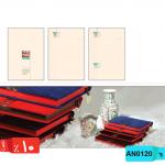 قیمت سررسید چرمی سالنامه,رقعی,جلد,جیر,لبه,رنگی,AN0120