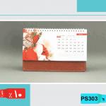 تقویم رومیزی لاکچری تقویم,رومیزی,گل پایه, پوست ماری,SP3003
