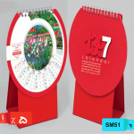 تقویم پارسی طرح دایره ای SM51