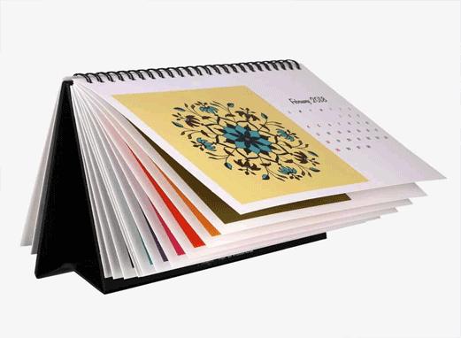 عکس تقویم رومیزی