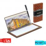 تقویم رومیزی چوبی,هفتگی, PC137