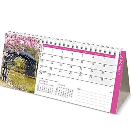 تقویم رومیزی میلادی