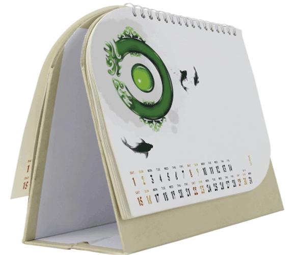 قیمت طراحی تقویم رومیزی