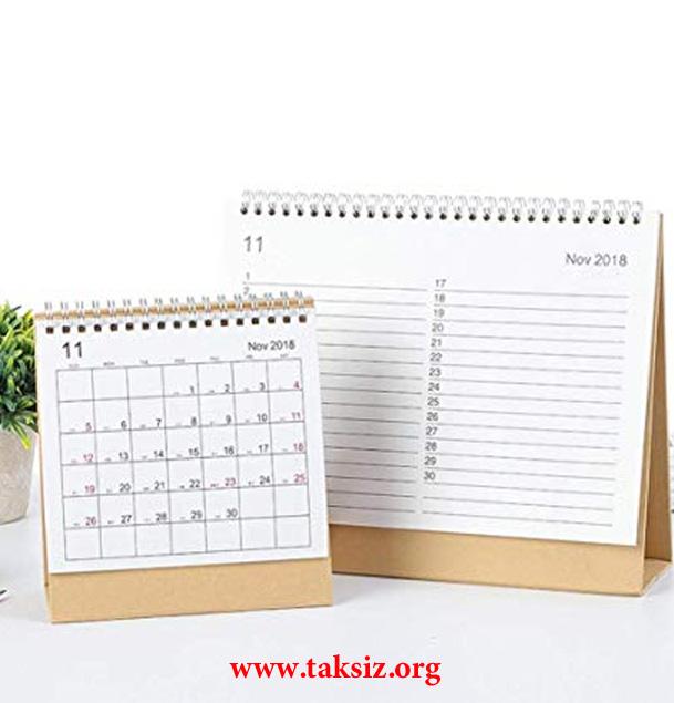 تقویم رومیزی 1